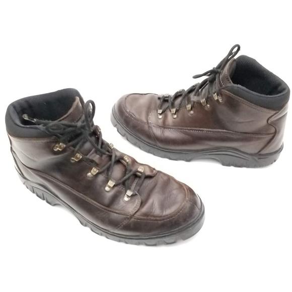innovative design 3a7f8 44095 Nike ACG Leather Hiking Boots size 10.5. Nike ACG.  M 5c8570f82beb79c11cf2fd89. M 5c8570f8c9bf50d2e9894cfa.  M 5c8570f803087c2b8f9fac4a